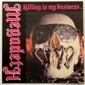 Megadeth - 'Killing is My Business' Square Sticker